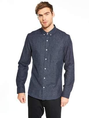 Very Long Sleeve Brushed Shirt