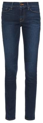 Frame Le Skinny De Jeanne Mid Rise Jeans - Womens - Indigo