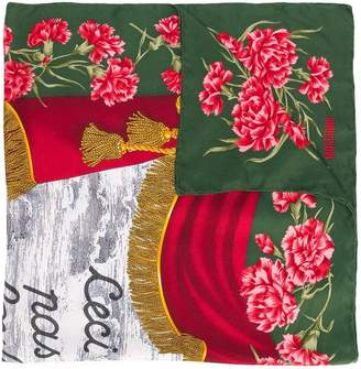 Moschino Pre-Owned floral print foulard