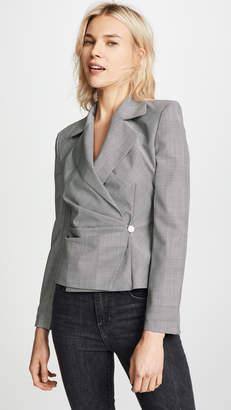 Misbhv M I S B H V Little Gray Wool Suit Blazer