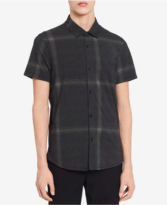 Calvin Klein Men's Block Checked Shirt