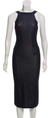 Cushnie et Ochs Textured Sleeveless Dress