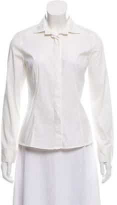 Brunello Cucinelli Long Sleeve Button-Up