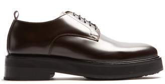 Eytys Kingston raised-sole leather derby shoes