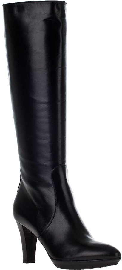 Aquatalia by Marvin K Rap Tall Boot Black Leather