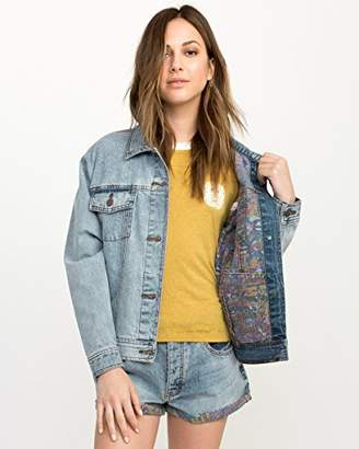 RVCA Junior's Grillo Denim Jacket