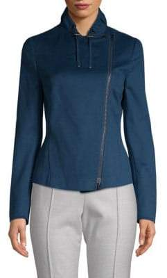 Akris Punto Asymmetrical Zip Jacket