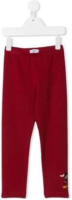 MonnaLisa Mickey patch leggings