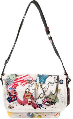 Marc JacobsMarc Jacobs Spring 2016 Collage Messenger Bag