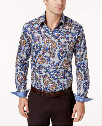 Tasso Elba Men's Paisley Shirt