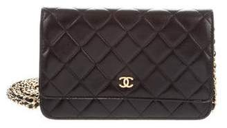 Chanel 2018 Quilted Wallet On Chain