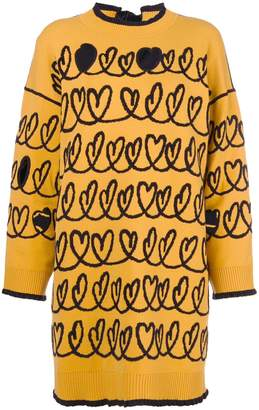 Fendi maxi knit sweater