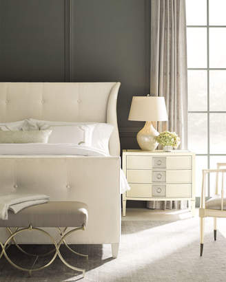 Caracole Elisse Queen Tufted Bed