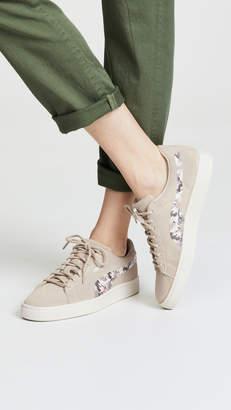 Puma Suede Sunfade Stitch Sneakers