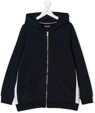 Tommy Hilfiger Junior TEEN side logo hoodie