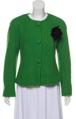 Lafayette 148 Tweed Wool Blazer