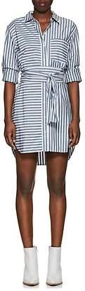 Current/Elliott Women's Alda Striped Cotton Shirtdress