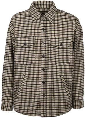 Golden Goose Plaid Shirt Jacket