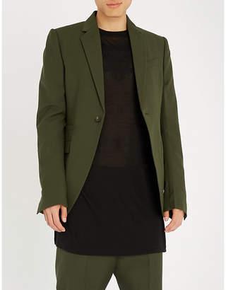 Rick Owens Regular-fit wool jacket