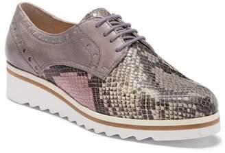 Manas Design Lace-Up Flatform Shoe