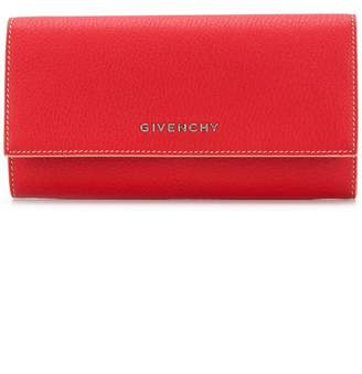 Givenchy long flap wallet