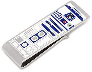 Cufflinks Inc. Star Wars R2D2 Money Clip