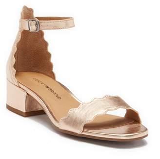 Lucky Brand Norreys Block Heel Sandal
