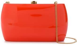 Rocio rounded shape clutch bag