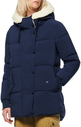 Andrew Marc Poly Puffer