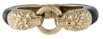 Chanel Enamel Lion Bangle