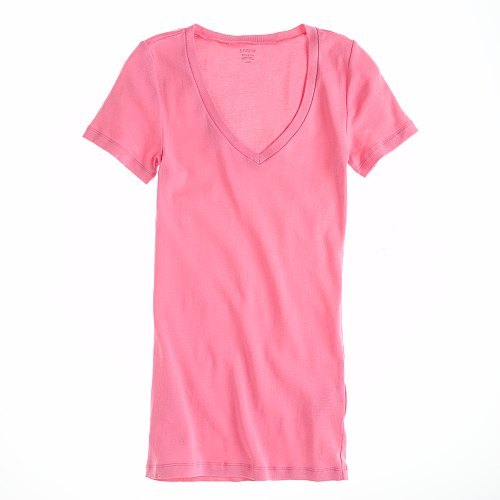 J.Crew Perfect-fit short-sleeve V-neck tee
