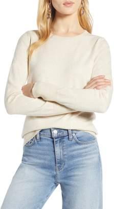 Halogen Shimmer Knit Sweater