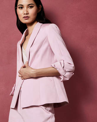 Ted Baker TOPLY Bow cuff tailored jacket