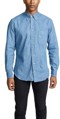 Gitman Brothers Denim Buttondown Shirt