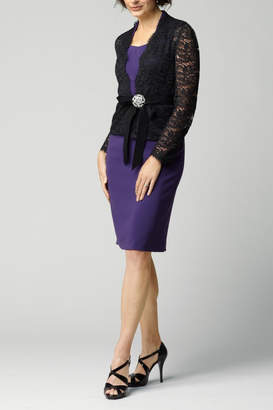 Watters Dress With Jacket