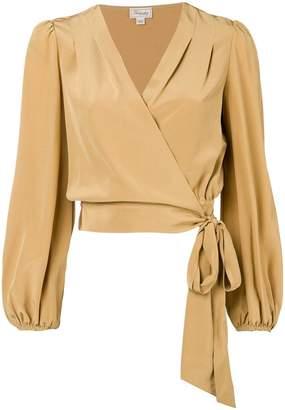 Temperley London Eden wrap blouse