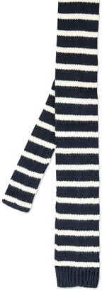 Striped Knit Tie $55 thestylecure.com