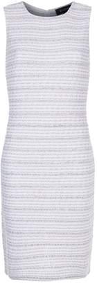 St. John Textured Stripe Dress