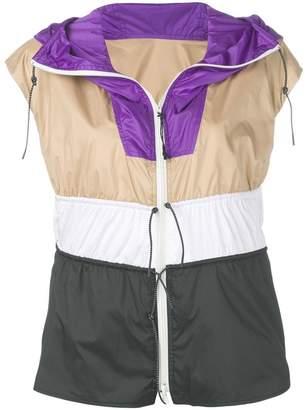 Sportmax hooded windbreaker