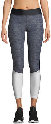 Under Armour Armour Jacquard Colorblock Cropped Leggings