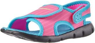 Nike Toddler Girls Sunray Adjustable 4 (TD) Sandal -612 (7c)