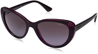 Vogue Women's Injected Woman 0vo5050s Cateye Sunglasses