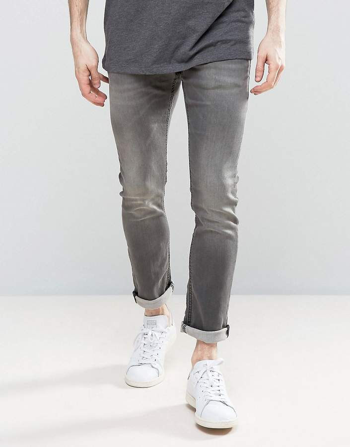 Jack And JonesJack & Jones Intellience Jeans In Slim Fit Super Stretch