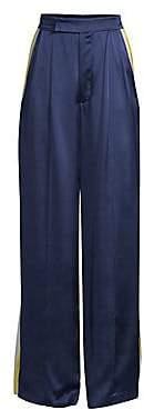Alexis Women's Nicoli Sports Stripe Silk Pants