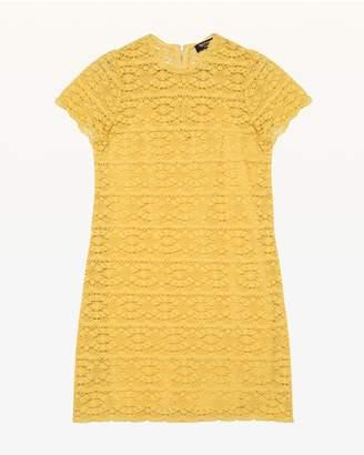 Juicy Couture Crochet Lace Shift Dress
