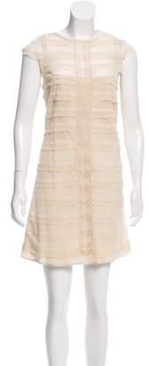 Robert Rodriguez Lace Mini Dress