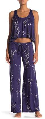 Jonquil In Bloom by Floral Patterned Pajama Pants