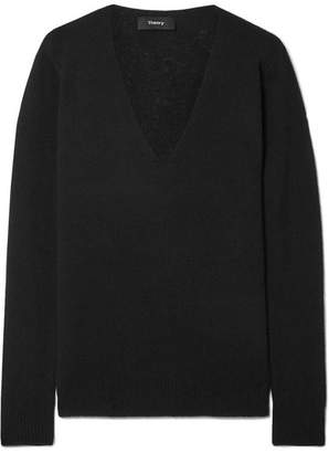 Theory Adrianna Cashmere Sweater - Black
