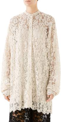 Gucci Scalloped Lace Dress