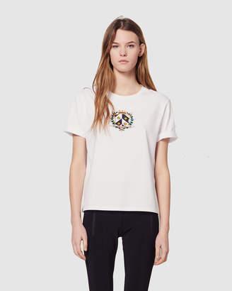 Sandro Elliot Knitted T Shirt